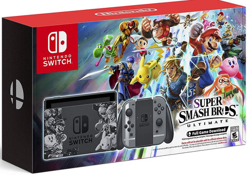 Nintendo Switch Super Smash Bros. Ultimate Edition - Nintendo Switch Package