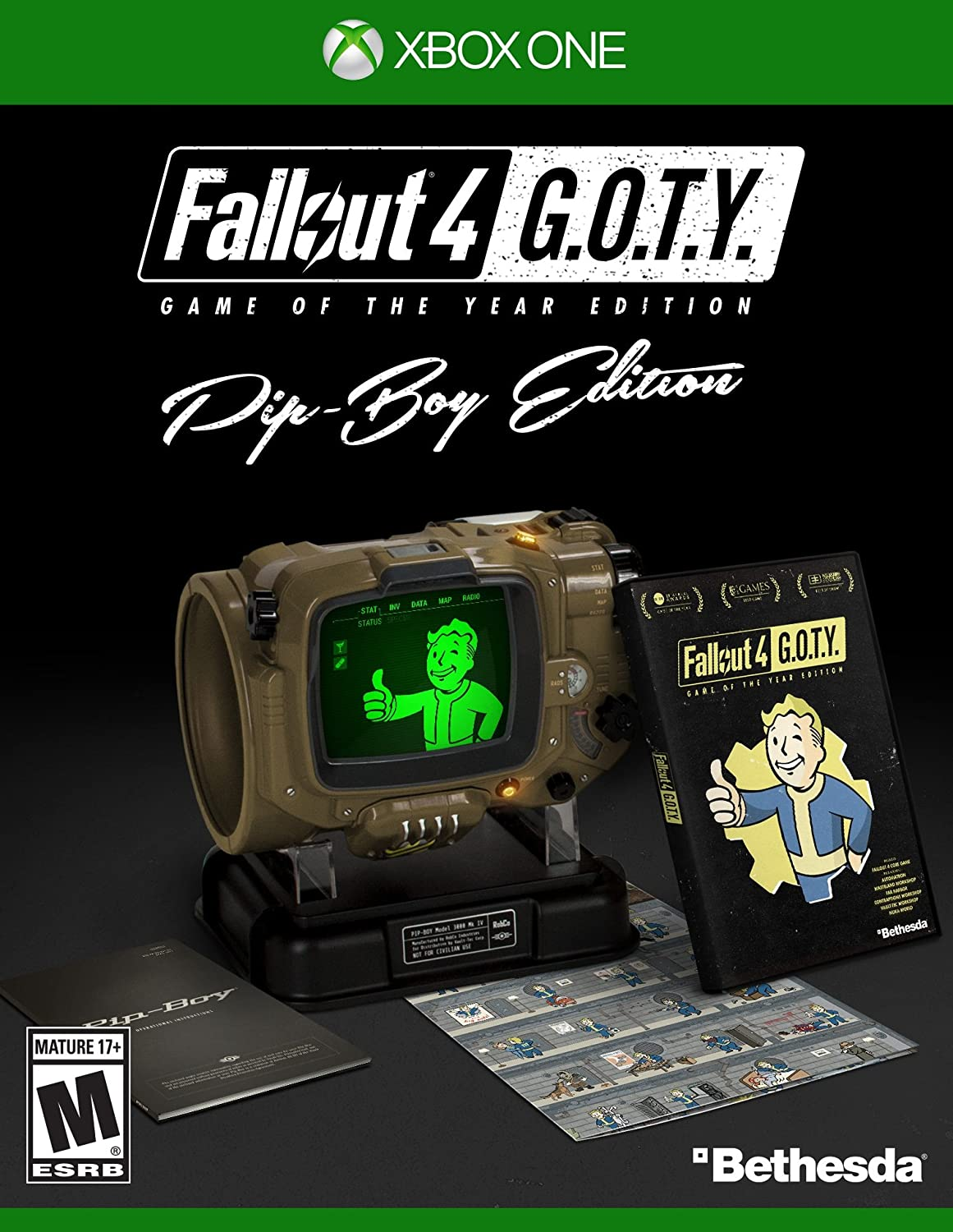 Fallout 4: Game of the Year Edition (Pip-Boy Edition) - Xbox One [NEW]