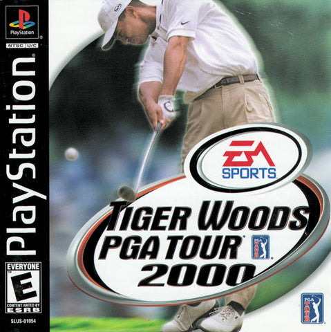 Tiger Woods PGA Tour 2000 - PlayStation