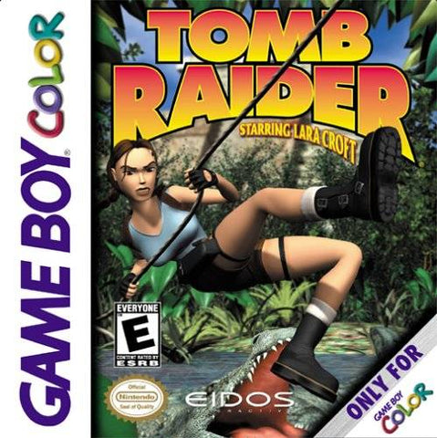 Tomb Raider Starring Lara Croft - Game Boy Color [USED]