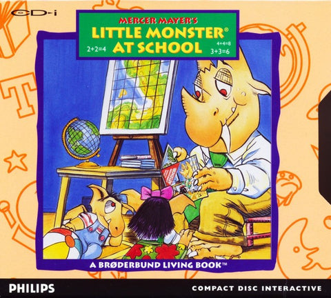 Little Monster At School - CD-I