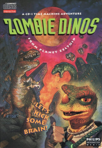 Zombie Dinos from Planet Zeltoid - CD-I