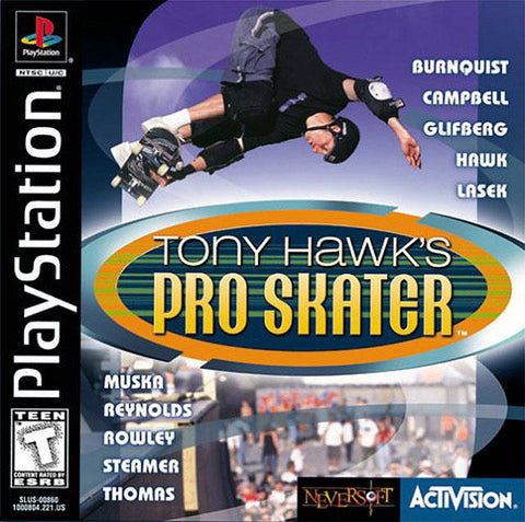 Tony Hawk's Pro Skater - PlayStation