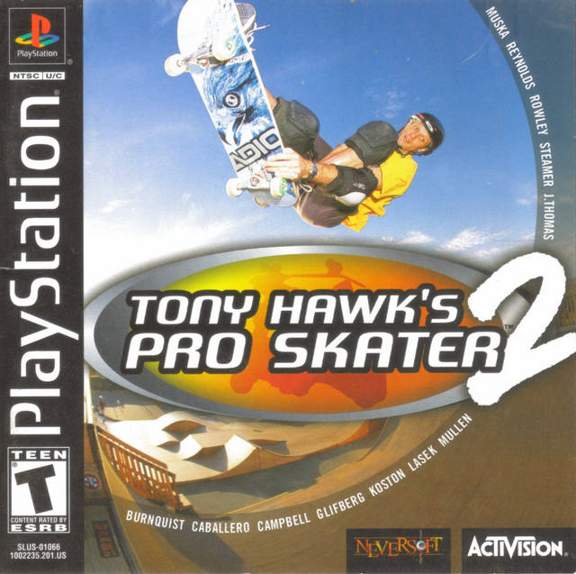 Tony Hawk's Pro Skater 2 - PlayStation