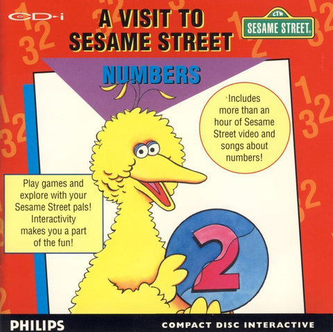 A Visit to Sesame Street: Numbers - CD-I