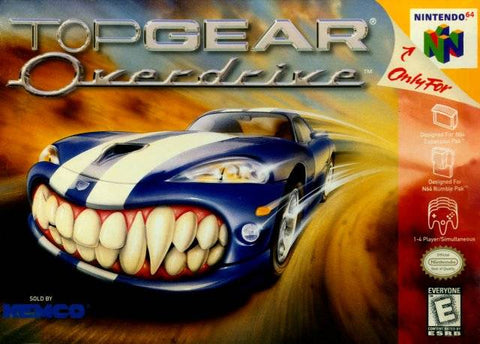 Top Gear Overdrive - Nintendo 64 [USED]