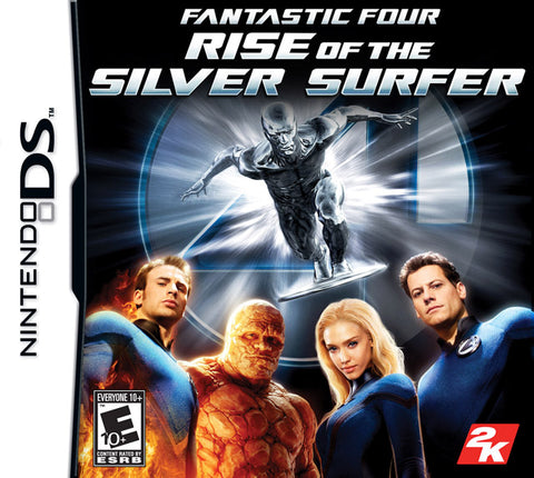 Fantastic Four: Rise of the Silver Surfer - Nintendo DS