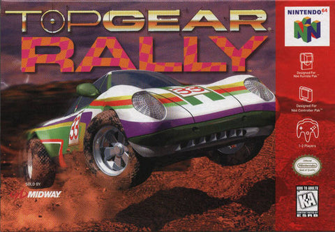Top Gear Rally - Nintendo 64 [USED]
