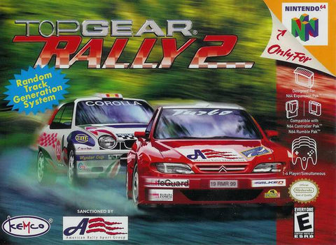 Top Gear Rally 2 - Nintendo 64 [USED]
