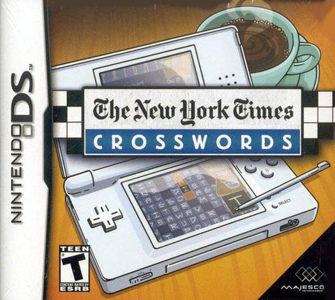 The New York Times Crosswords - Nintendo DS