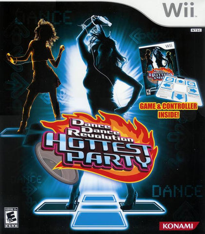 Dance Dance Revolution: Hottest Party (w/Dance Pad) - Nintendo Wii [USED]