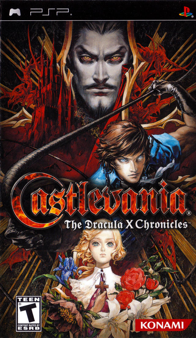 Castlevania: The Dracula X Chronicles - PSP