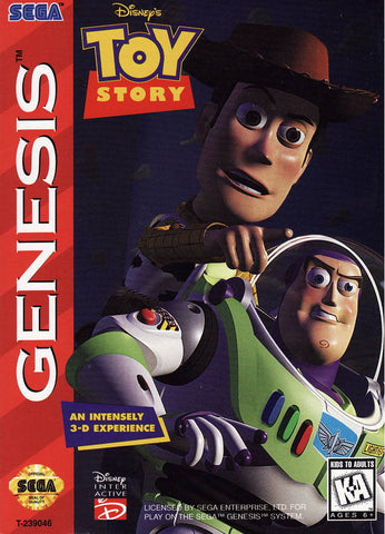 Disney's Toy Story - SEGA Genesis [USED]