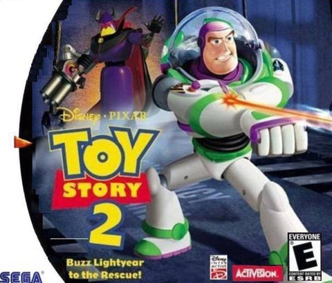 Disney/Pixar Toy Story 2: Buzz Lightyear to the Rescue! - SEGA Dreamcast (ACT, 2000) [USED]
