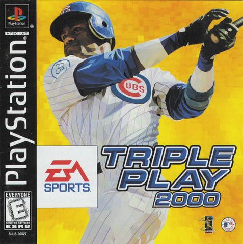Triple Play 2000 - PlayStation