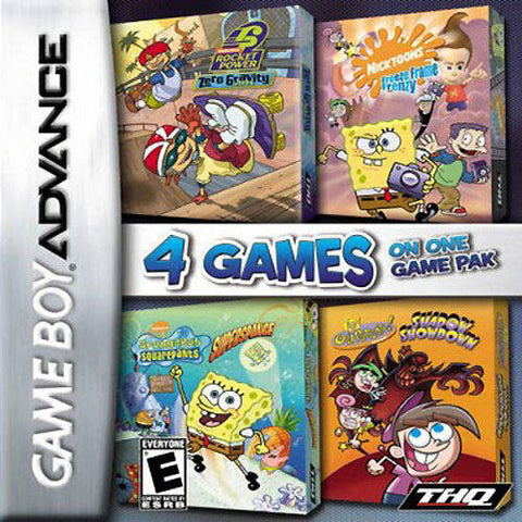 Nickelodeon Vol. 1 4-Pack - Game Boy Advance [USED]