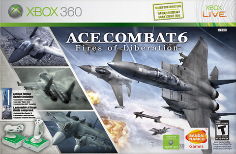 Ace Combat 6: Fires of Liberation (w/Flightstick) - Xbox 360