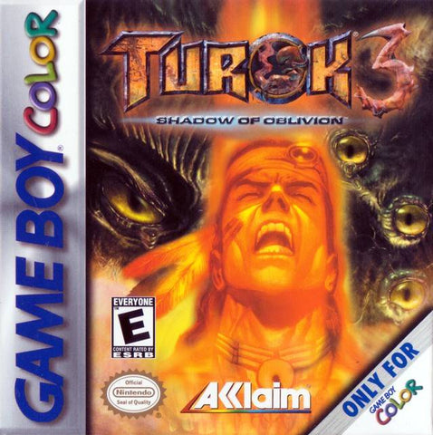Turok 3: Shadow of Oblivion - Game Boy Color [USED]
