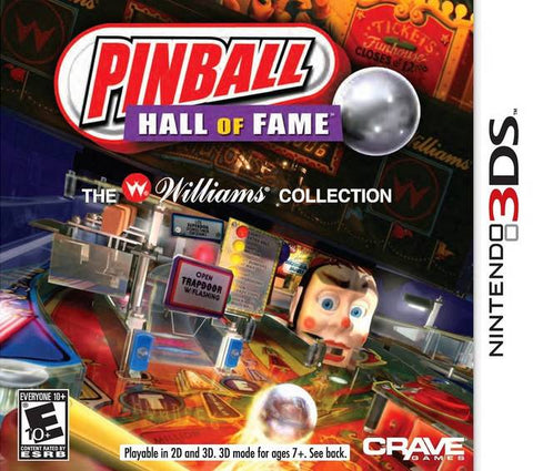 Pinball Hall of Fame: The Williams Collection - Nintendo 3DS [USED]