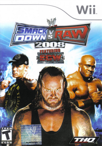 WWE SmackDown vs. Raw 2008 - Nintendo Wii [USED]