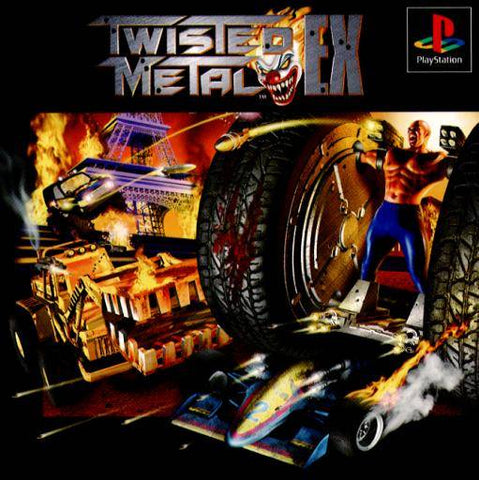 Twisted Metal EX - PlayStation (Japan)