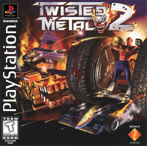 Twisted Metal 2 - PlayStation