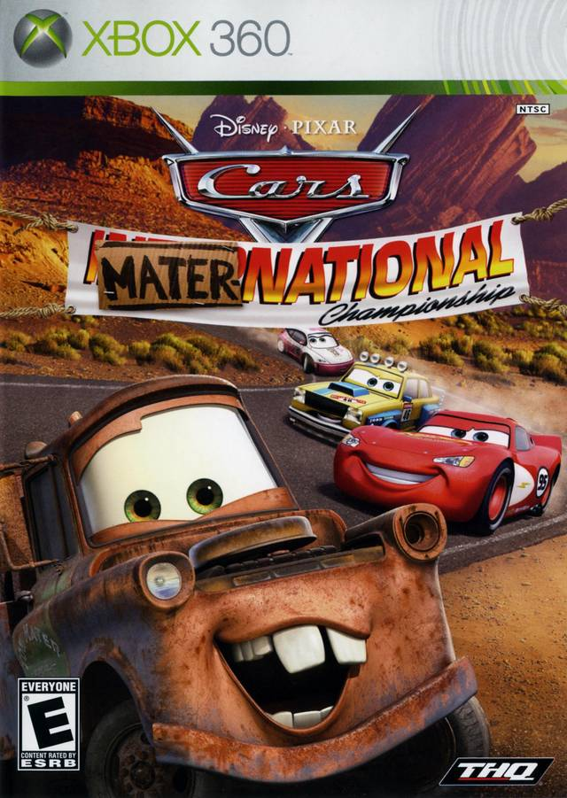 Cars Mater-National Championship - Xbox 360