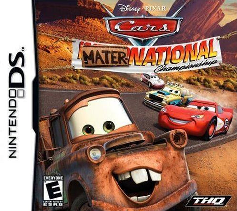 Cars Mater-National Championship - Nintendo DS