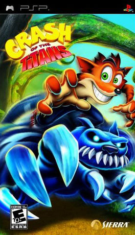 Crash of the Titans - PSP