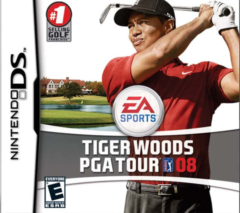 Tiger Woods PGA Tour 08 - Nintendo DS