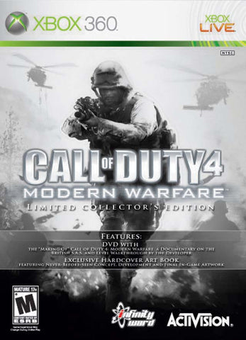 Call of Duty 4: Modern Warfare (Collector's Edition) - Xbox 360