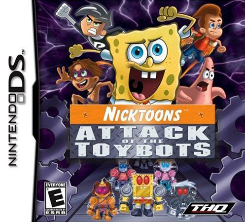 Nicktoons: Attack of the Toybots - Nintendo DS