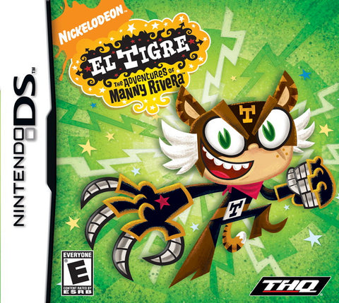 El Tigre: The Adventures of Manny Rivera - Nintendo DS