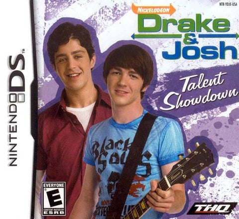 Nickelodeon Drake & Josh: Talent Showdown - Nintendo DS