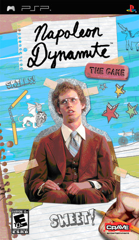 Napoleon Dynamite: The Game - PSP