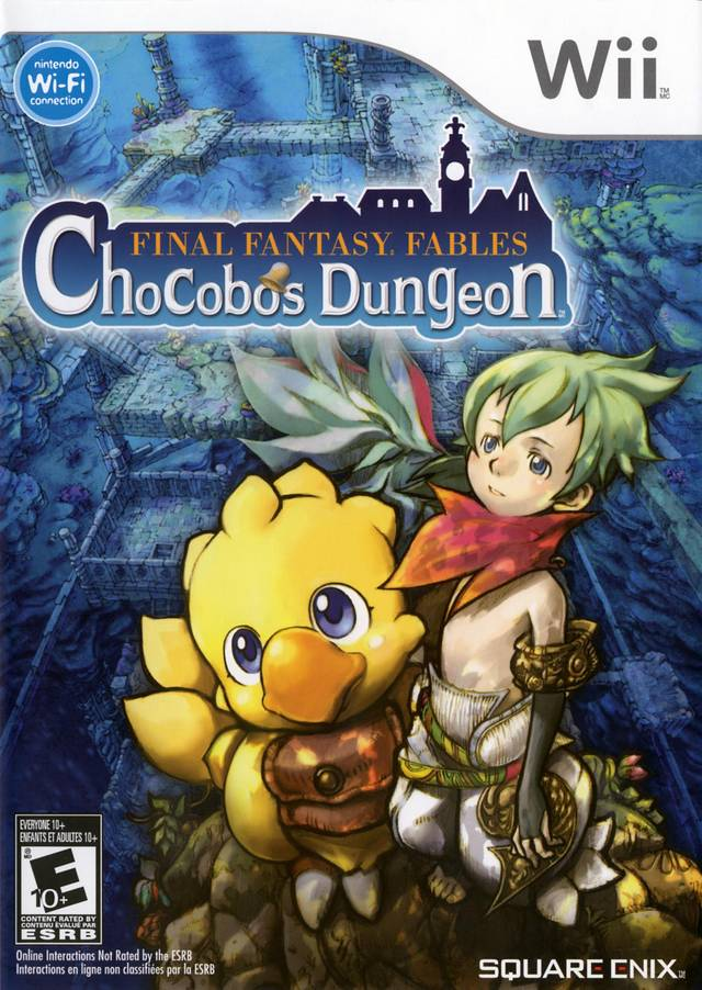 Final Fantasy Fables: Chocobo's Dungeon - Nintendo Wii [USED]