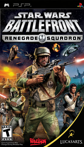 Star Wars Battlefront: Renegade Squadron - PSP