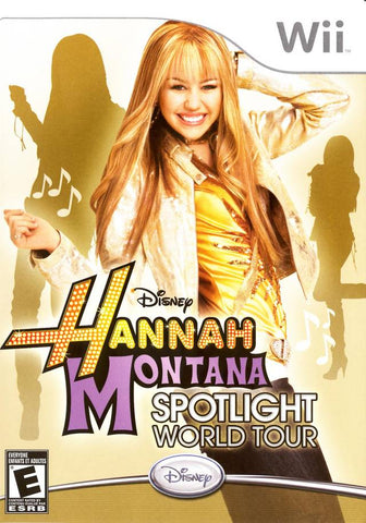Disney Hannah Montana: Spotlight World Tour - Nintendo Wii [NEW]