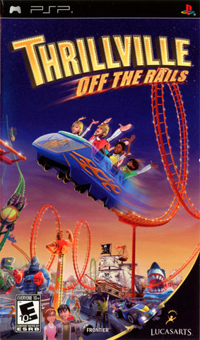 Thrillville: Off the Rails - PSP