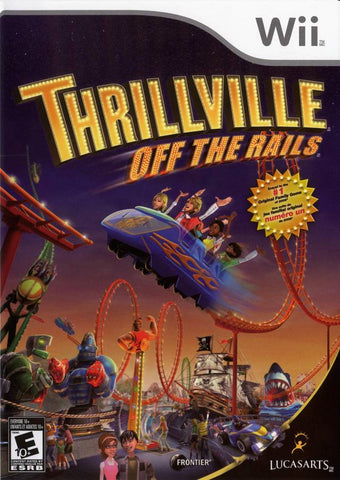Thrillville: Off the Rails - Nintendo Wii [USED]