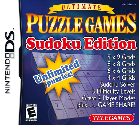 Ultimate Puzzle Games: Sudoku Edition - Nintendo DS