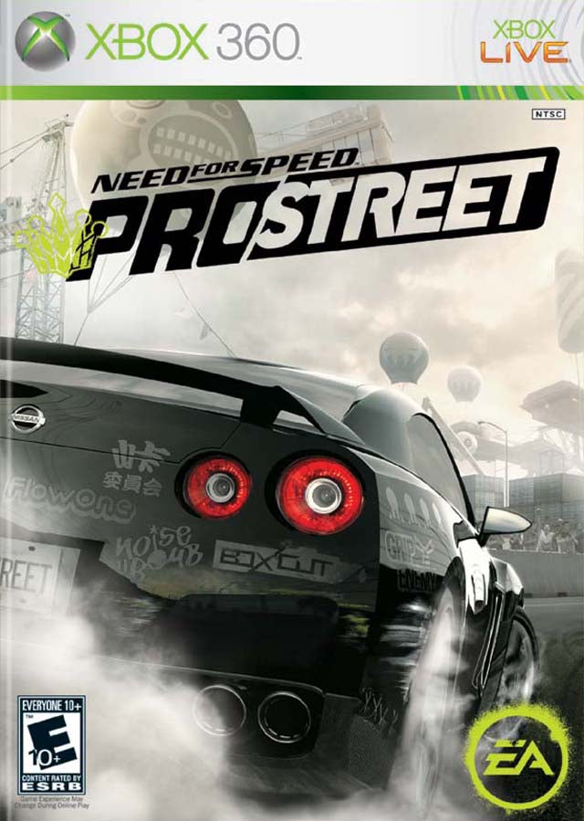 Need for Speed ProStreet - Xbox 360