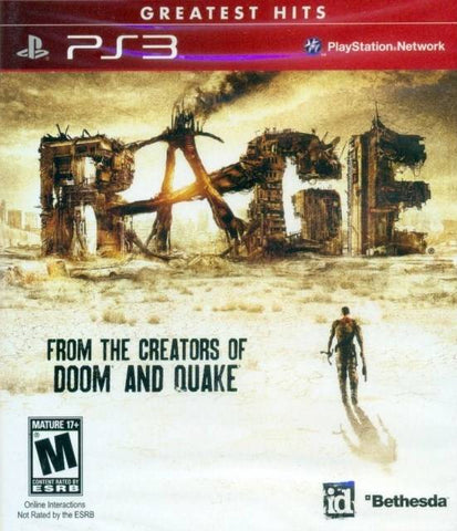 Rage (Greatest Hits) - PlayStation 3
