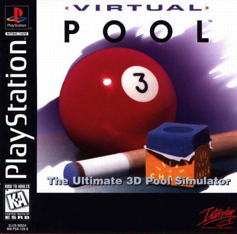 Virtual Pool - PlayStation