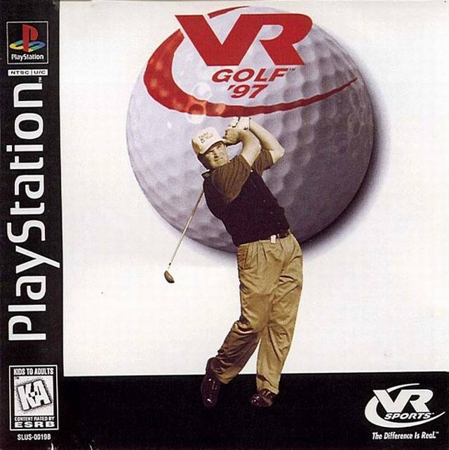 VR Golf '97 - PlayStation