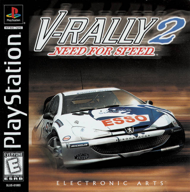 Need for Speed: V-Rally 2 - PlayStation