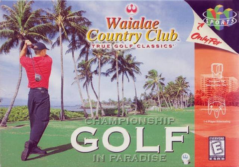 Waialae Country Club: True Golf Classics - Nintendo 64 [NEW]
