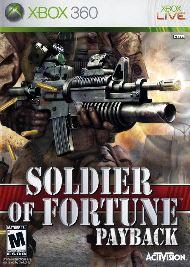 Soldier of Fortune: Payback - Xbox 360