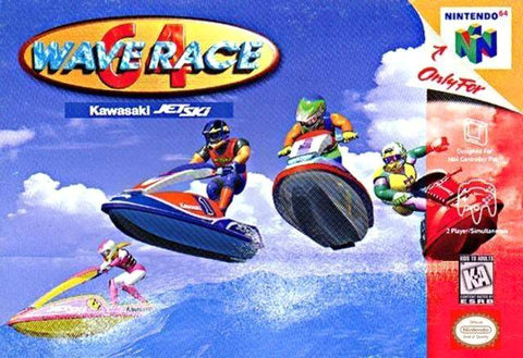 Wave Race 64 - Nintendo 64 [USED]