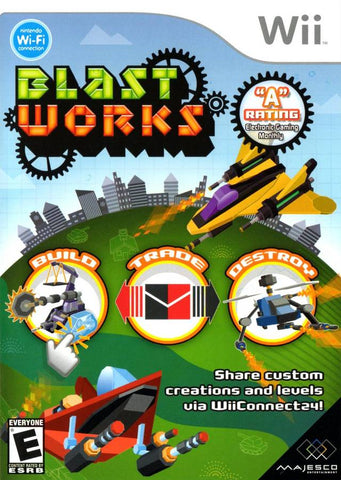 Blast Works: Build, Trade, Destroy - Nintendo Wii [NEW]